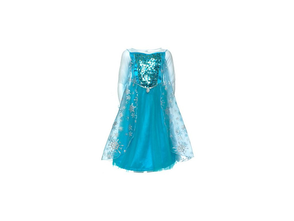 9702ad1cba5d Dětský kostým Elsa Ledové království Frozen třpitivý od 3-7let ...