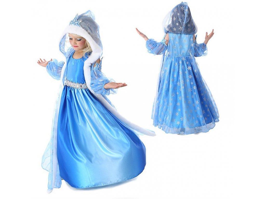41a695a464ad Dětský kostým Elsa Ledové království Frozen s kapí od 3-7let ...