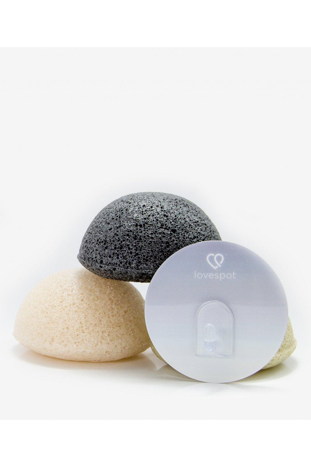 Háček na konjak houbičku • šedý