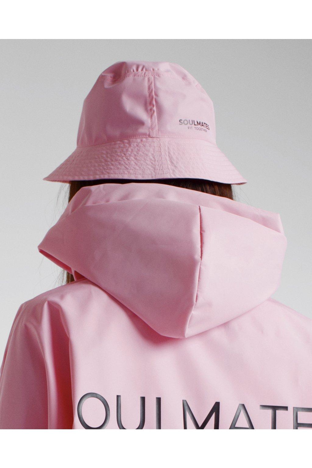 Stylový klobouček SOULMATES • light pink / světle růžový