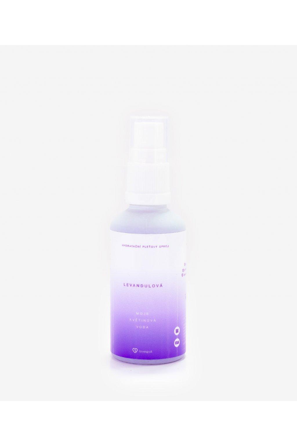BIO Levandulová květinová voda, 50 ml