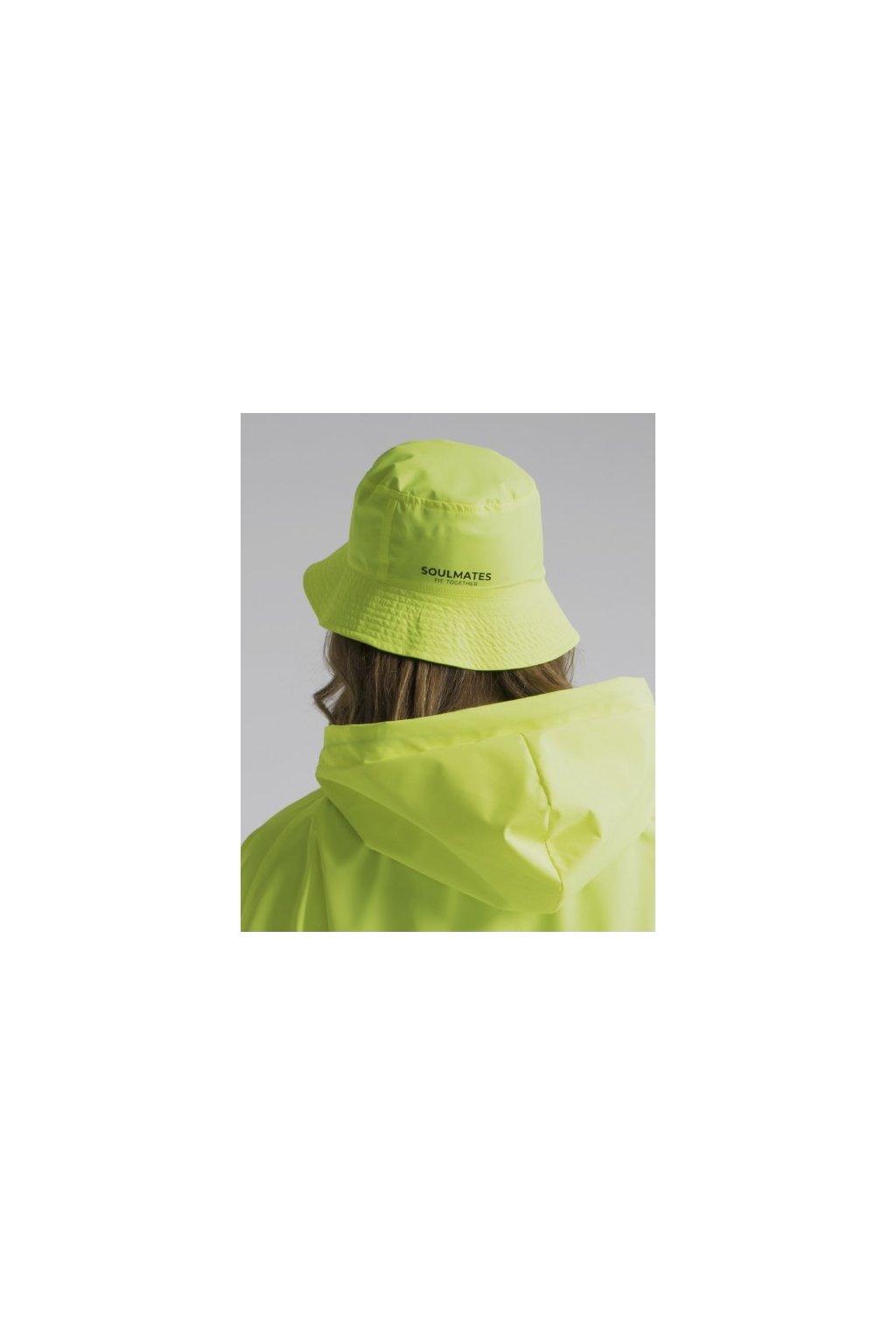 Stylový klobouček SOULMATES • neon yellow / neon žlutá