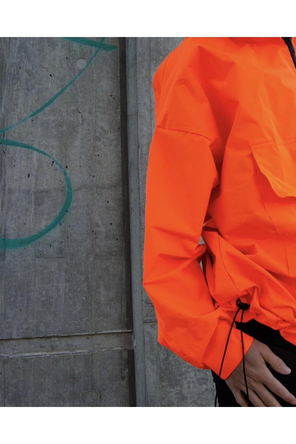 Stylová pláštěnka SOULMATES dětská • neon orange / neon oranžová