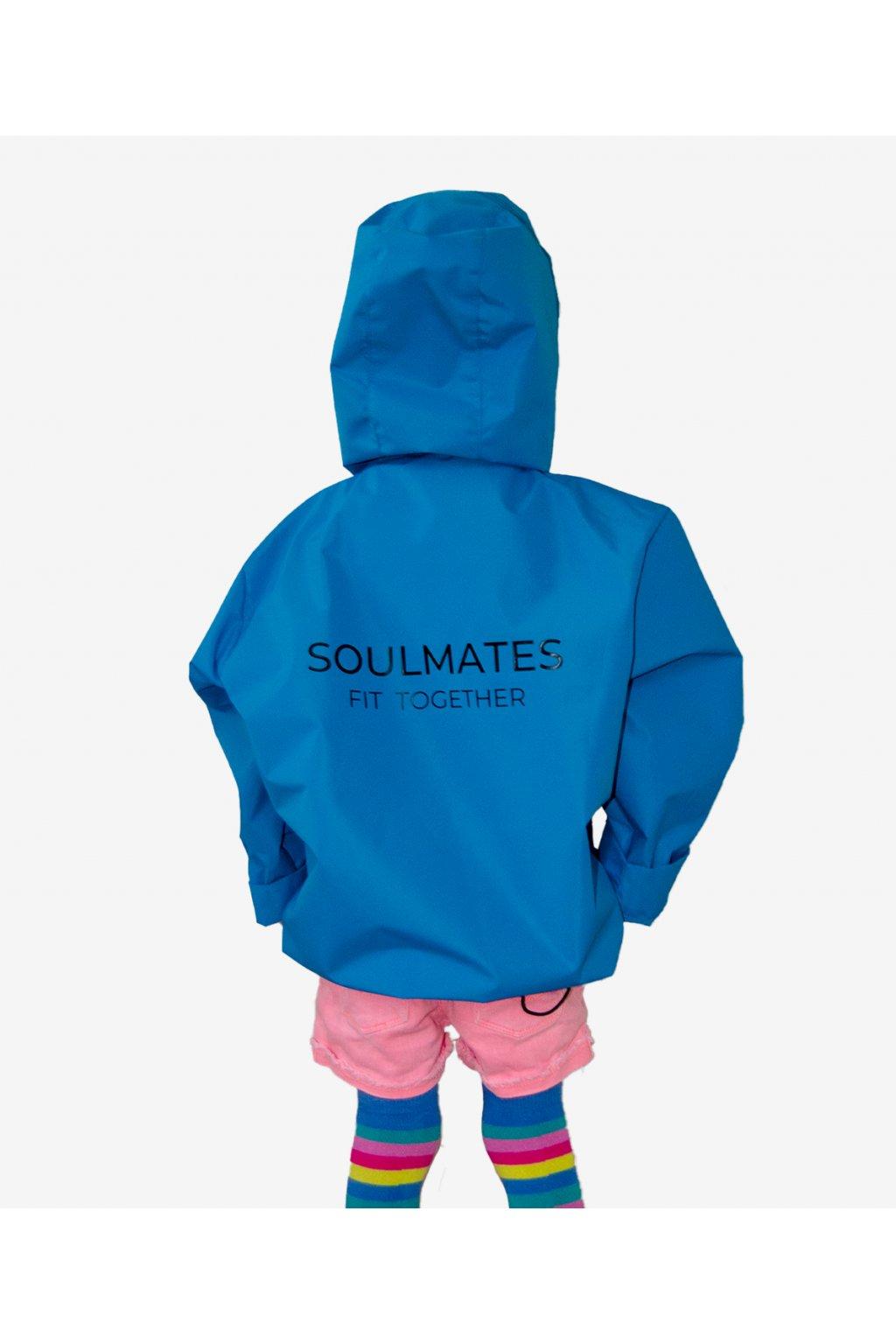 Stylová pláštěnka SOULMATES dětská • royal blue / modrá