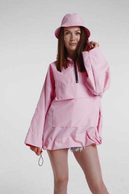 Stylová pláštěnka SOULMATES • light pink / světle růžová