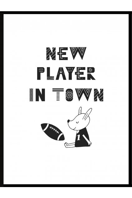Plakát New player in town