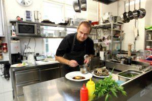 Jan Kracík, šéfkuchař restaurace Pot Au Feu