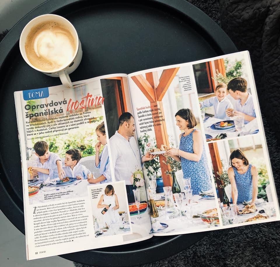 Carlosovy recepty v časopisu F.O.O.D.