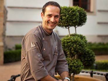 Marek Fichtner, šéfkuchař hotelu Augustine
