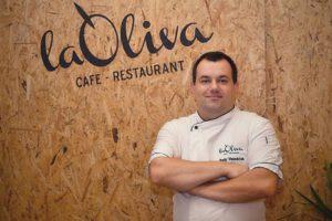 Petr Vološčuk, šéfkuchař a spolumajitel restaurace La Oliva