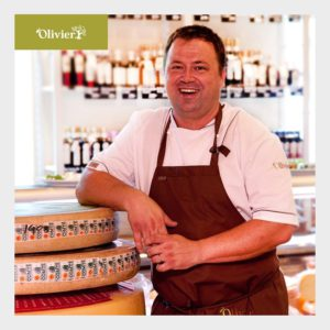 Robert Burian, šéfkuchař a majitel restaurace a obchodu Olivier