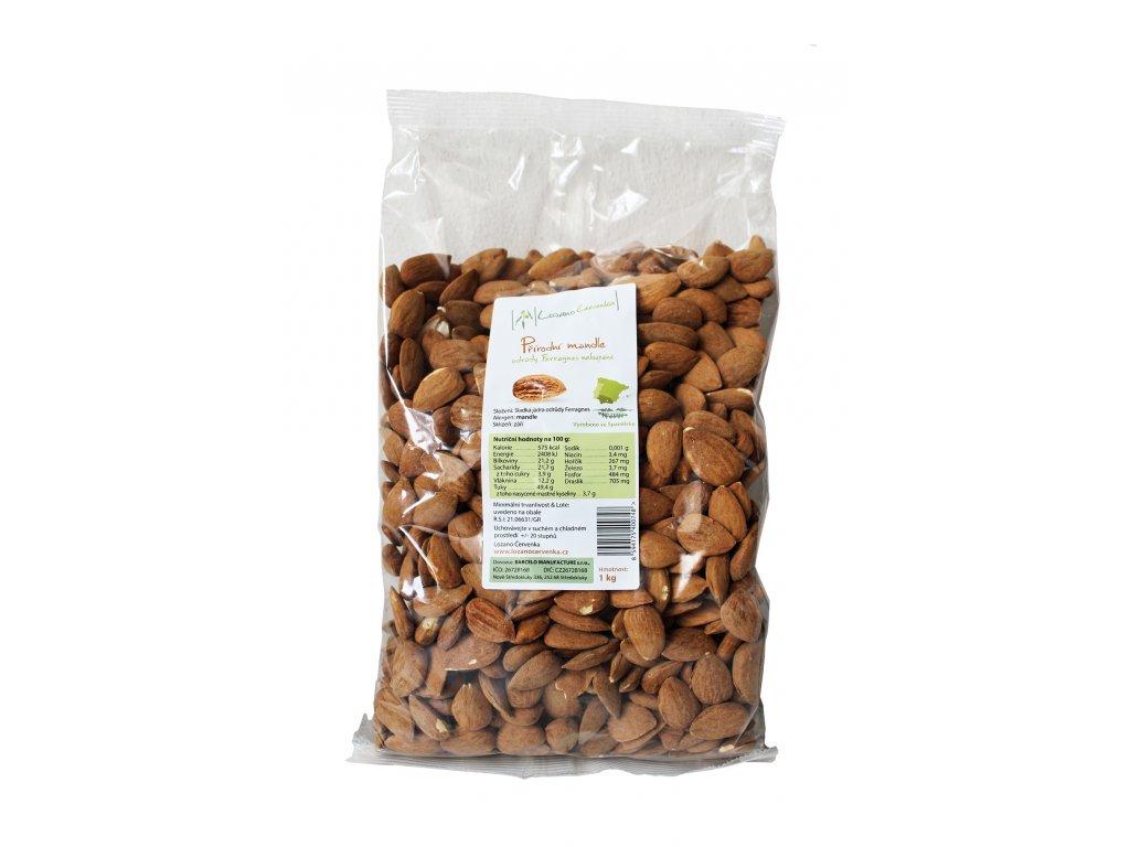 přírodní mandle 1 kg