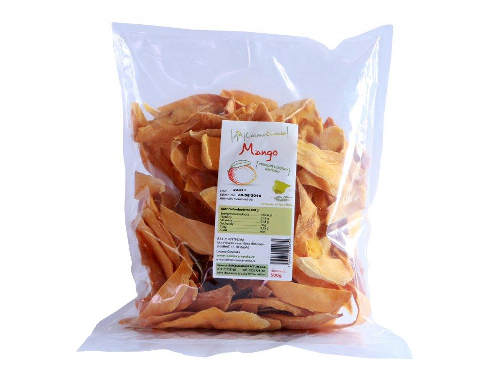 Lozano Cervenka Mango prirodne ususeno 500g