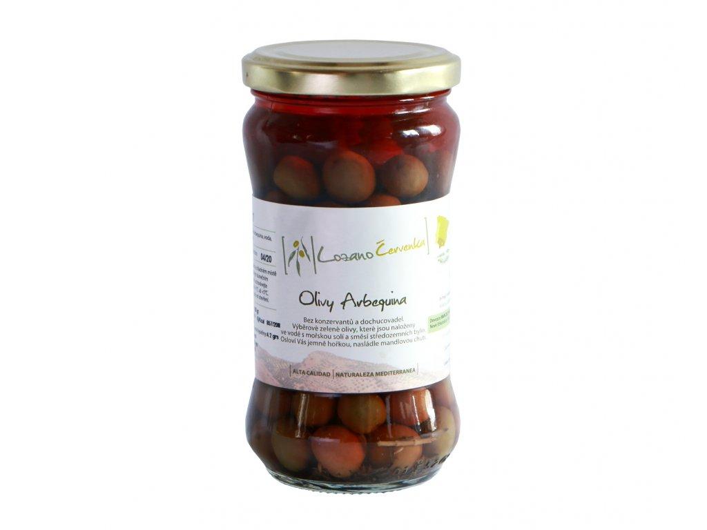 Olivy Arbequina malé