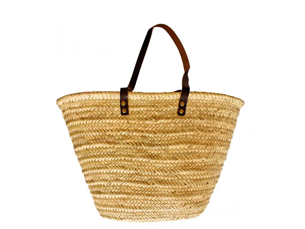 Pletený košík s uchy