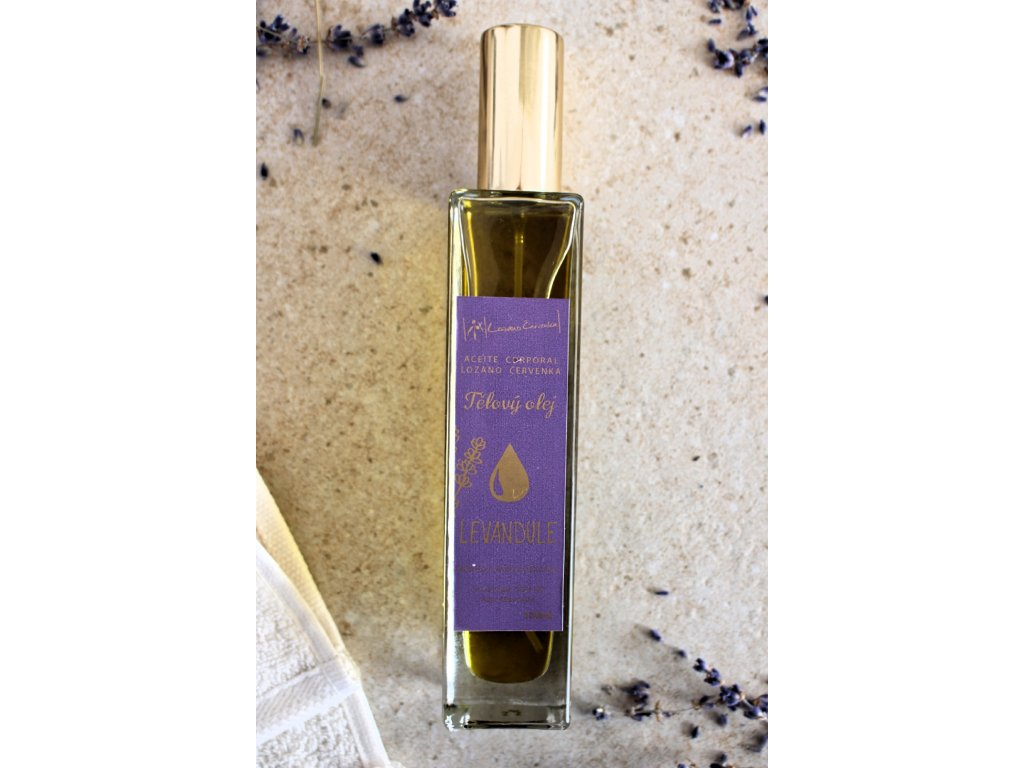 Tělový olej s levandulí