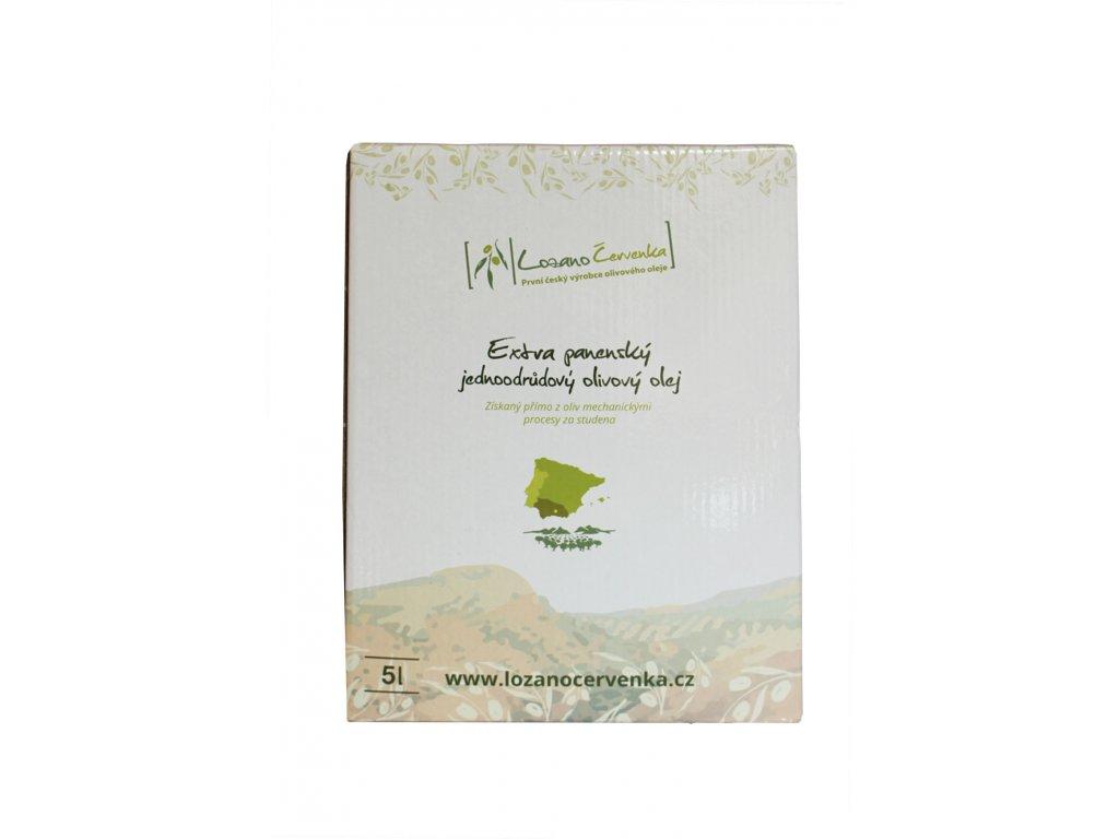 Arbequina 5l - Extra panenský olej olivový olej, Bag-In-Box