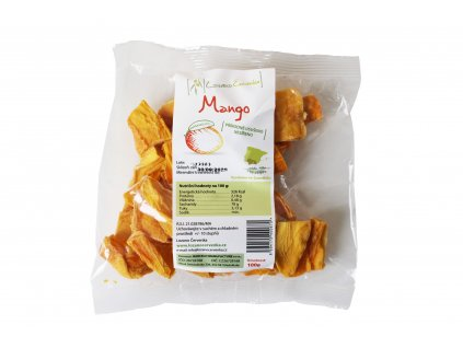Lozano Cervenka Mango prirodne ususeno 100g 1