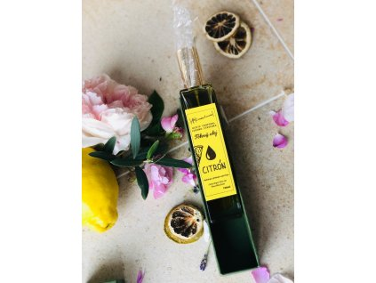 Tělový olej s citrónovu vůní