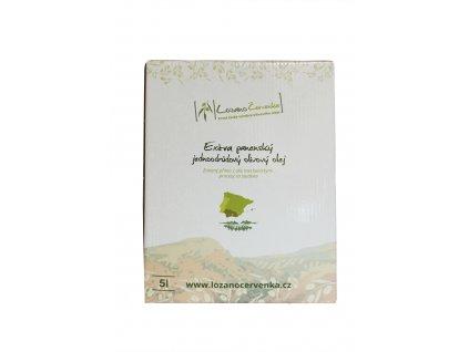 Picual 5l - Extra panenský nefiltrovaný olivový olej, Bag-In-Box