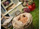 Sušené plody, mandle a pistácie