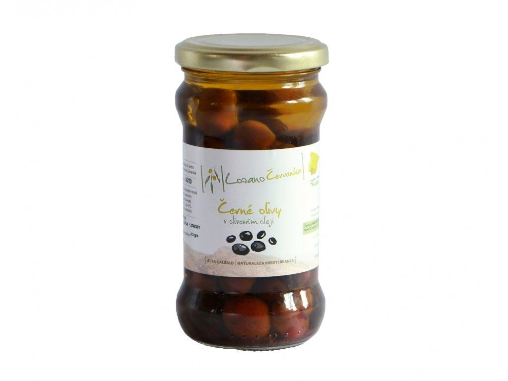 Černé olivy malé