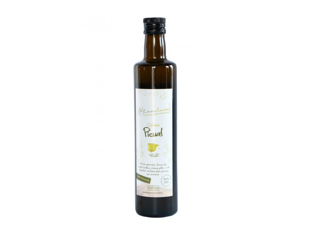 olej Picual nefiltrovaný