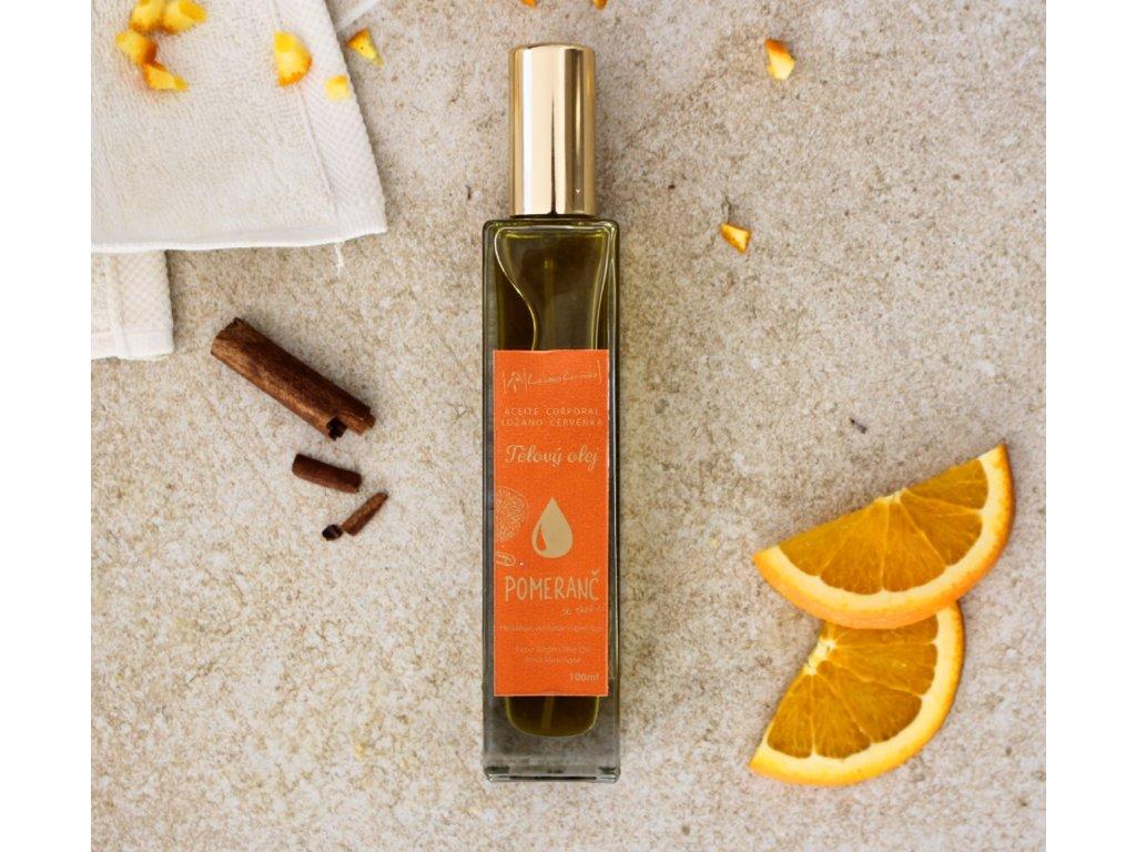 Tělový olej pomeranč 100ml
