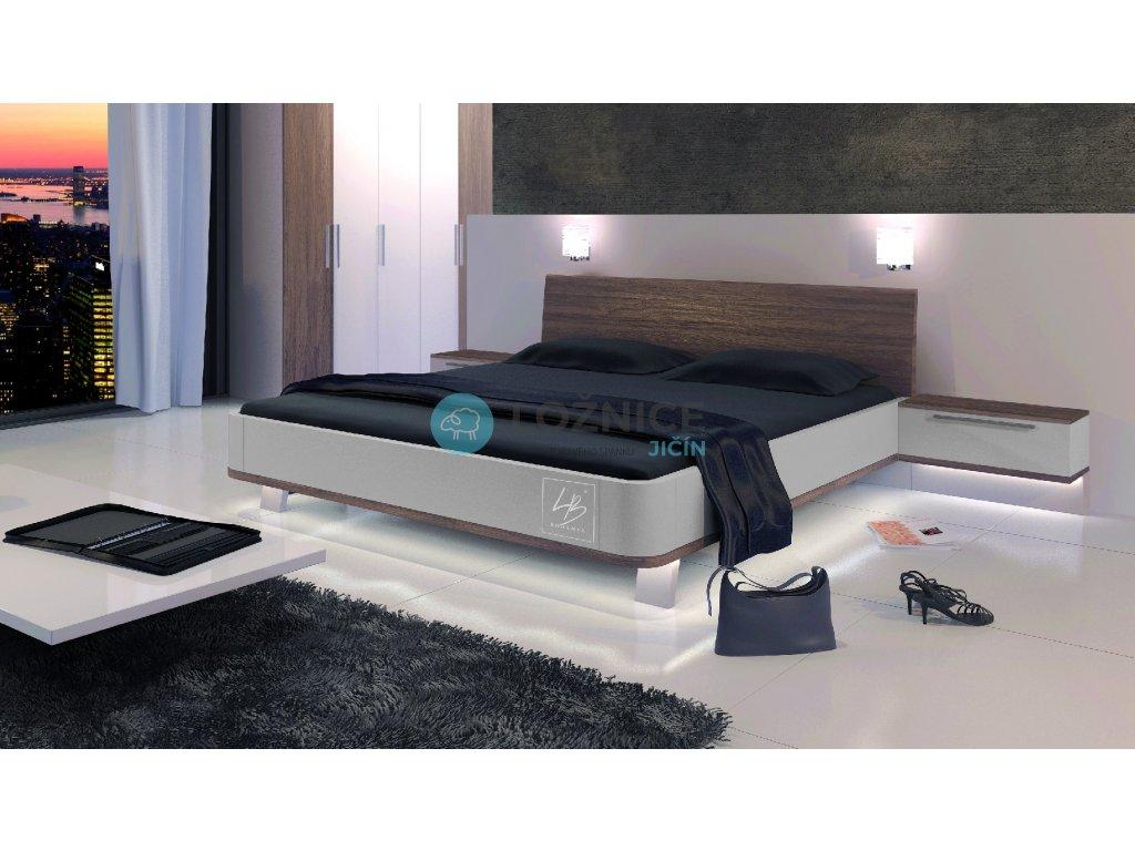 LED podsvícení postele Vally (Provedení postel+1 x ovladač)