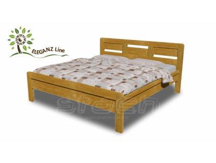 7136 jesica akce web akce 2019 drevena postel jesica dub