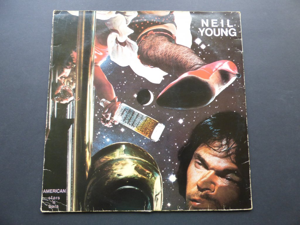 NEIL YOUNG - American Stars 'N Bars / 1977 - Lp bazar
