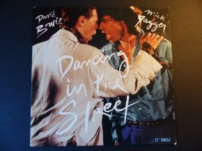 DAVID BOWIE and MICK JAGGER - Dancing In The Street / 1985