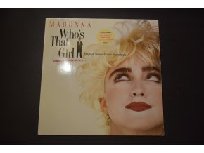 MADONNA -  Who's That Girl (Soundtrack) / 1987