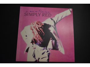 SIMPLY RED - A New Flame / 1987