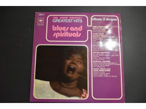 VARIOUS -  The Music Company Greatest Hits - Blues And Spirituals / 1971