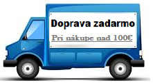 Doprava zadarmo pri nákupe nad 100€