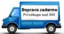 Doprava zadarmo pri nákupe nad 50€
