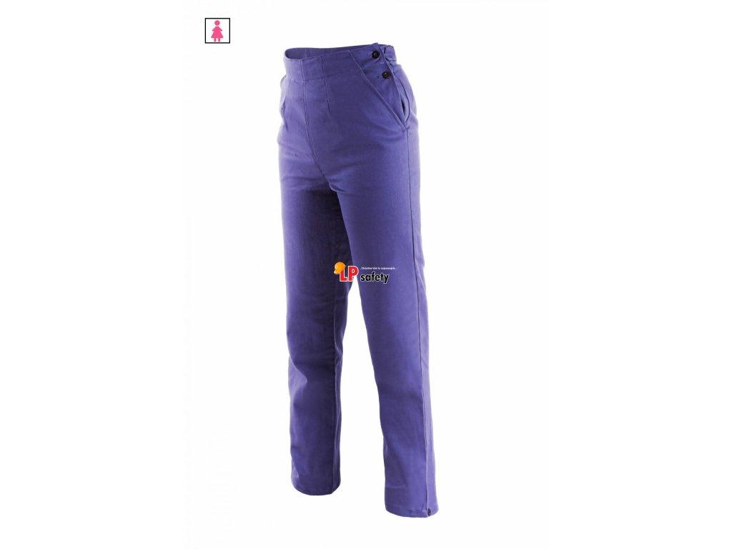 675156ad69b8 Monterkové nohavice do pása dámske CXS KLASIK HELA žena2