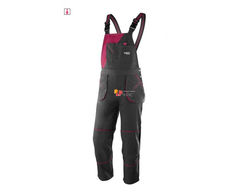 Nohavice s náprsenkou dámske WOMAN LINE 80-240 NEO