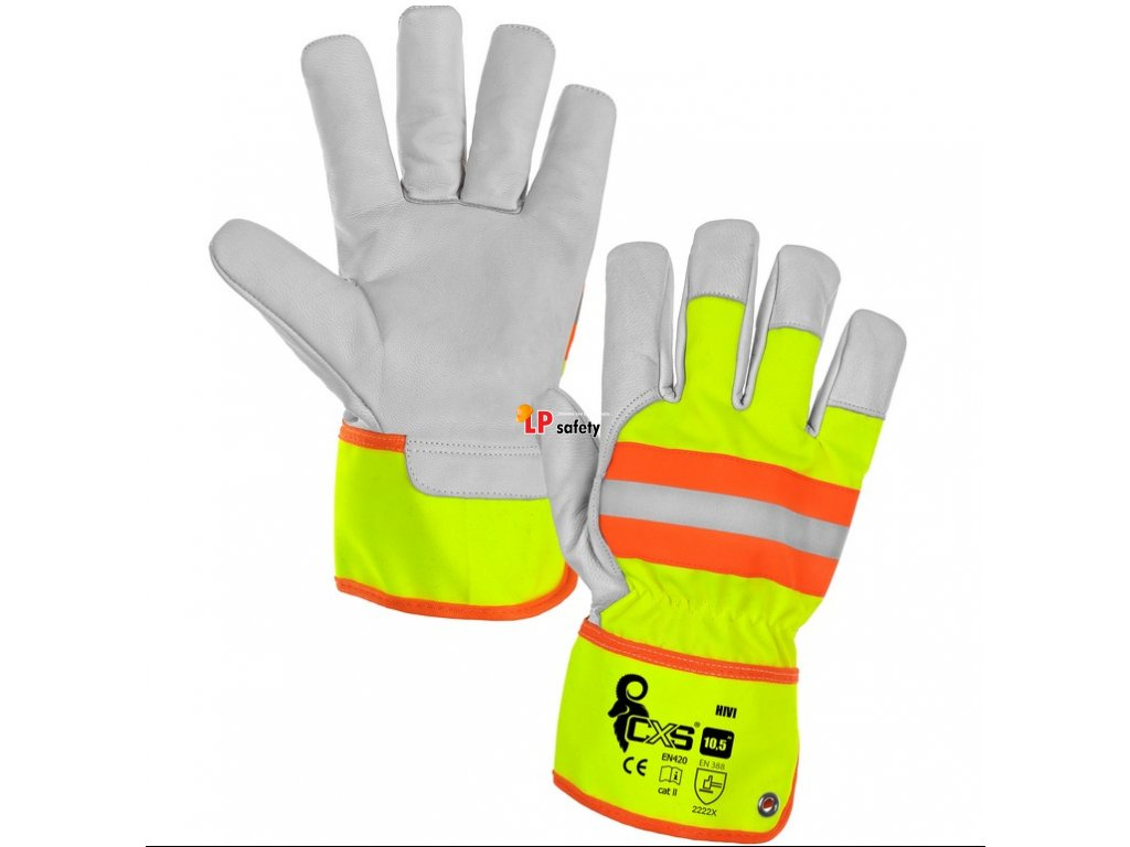 CXS HIVI kombinované rukavice