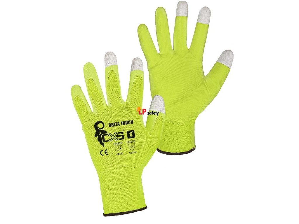 CXS BRITA TOUCH polomáčané rukavice