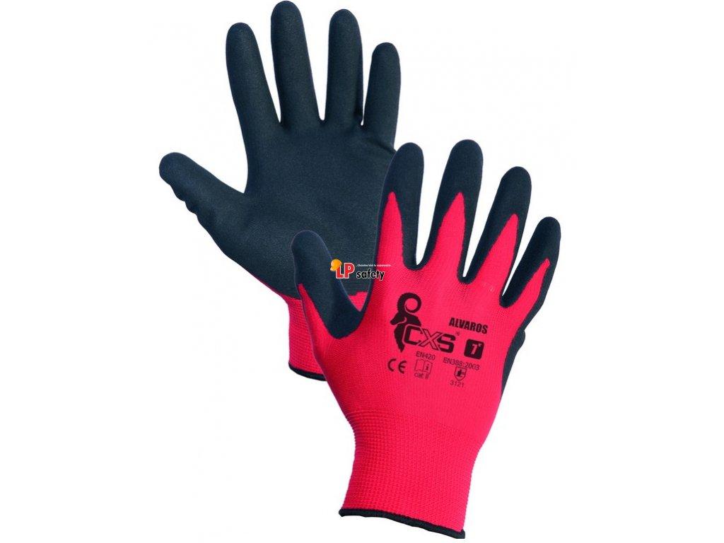 CXS ALVAROS polomáčané rukavice