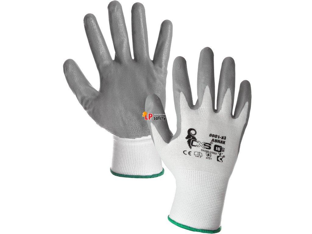 CXS ABRAK polomáčané rukavice