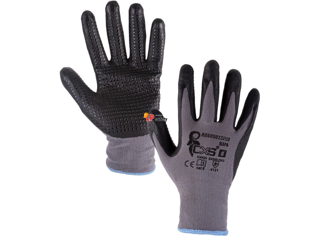 CXS NAPA polomáčané rukavice