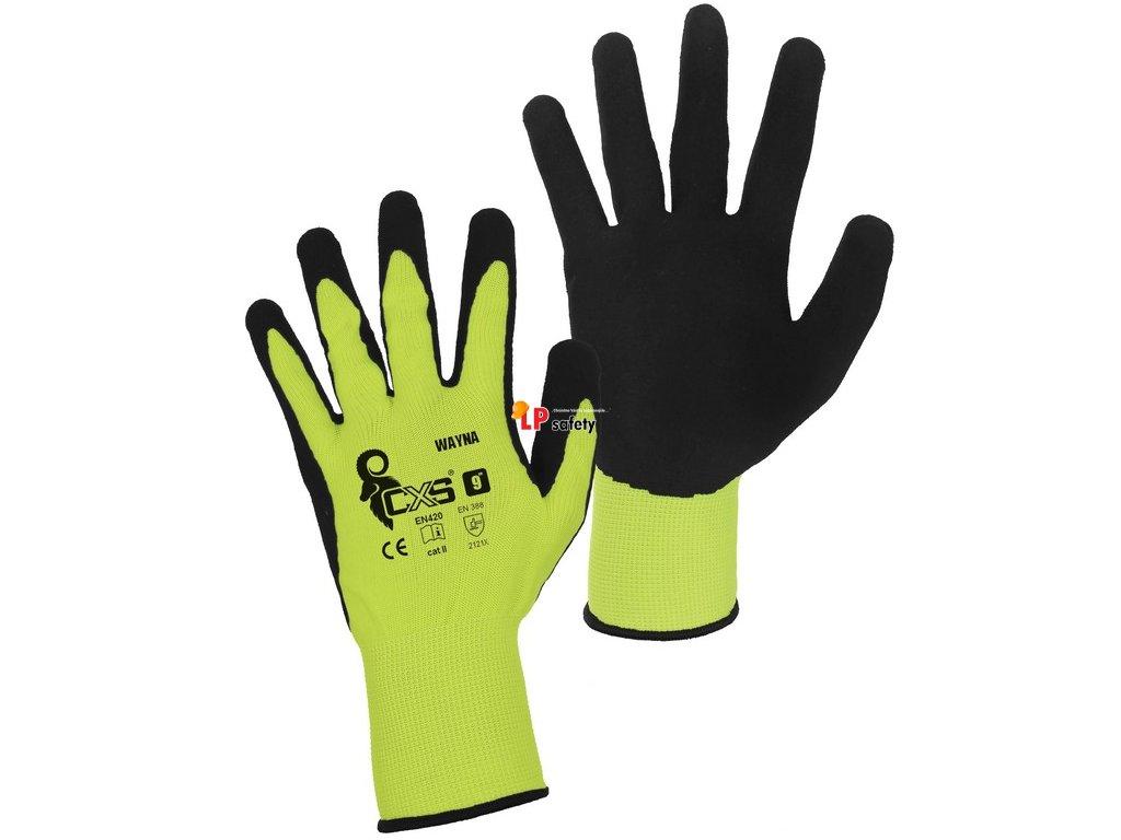 CXS WAYNA polomáčané rukavice