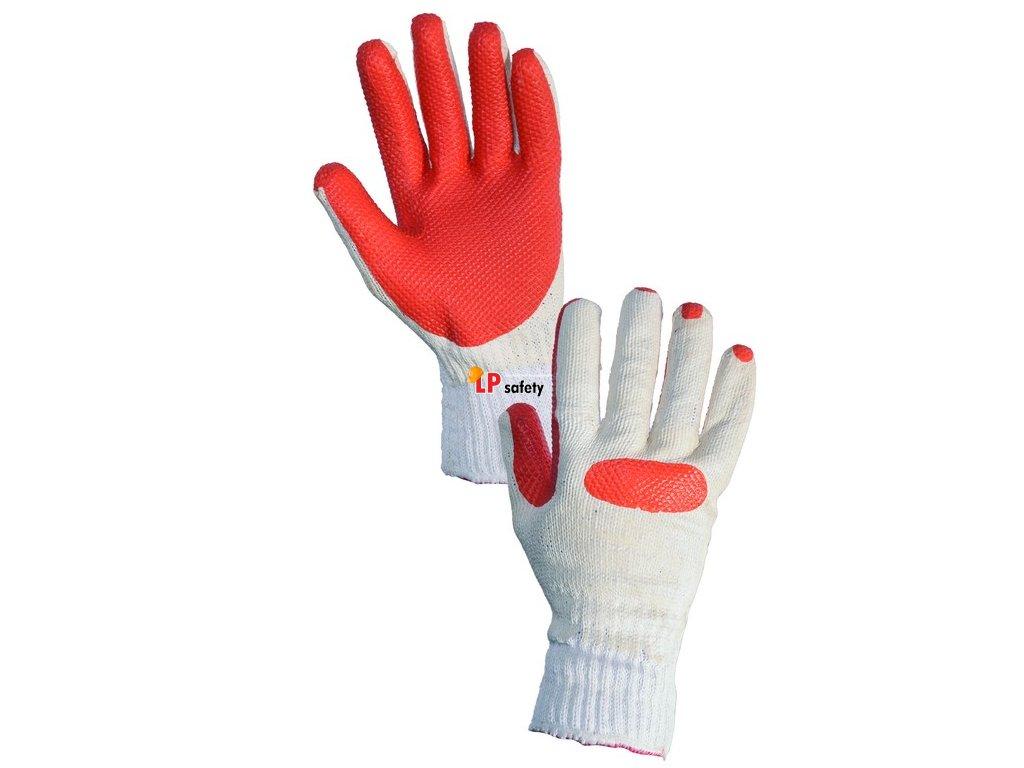CXS BLANCHE polomáčané rukavice