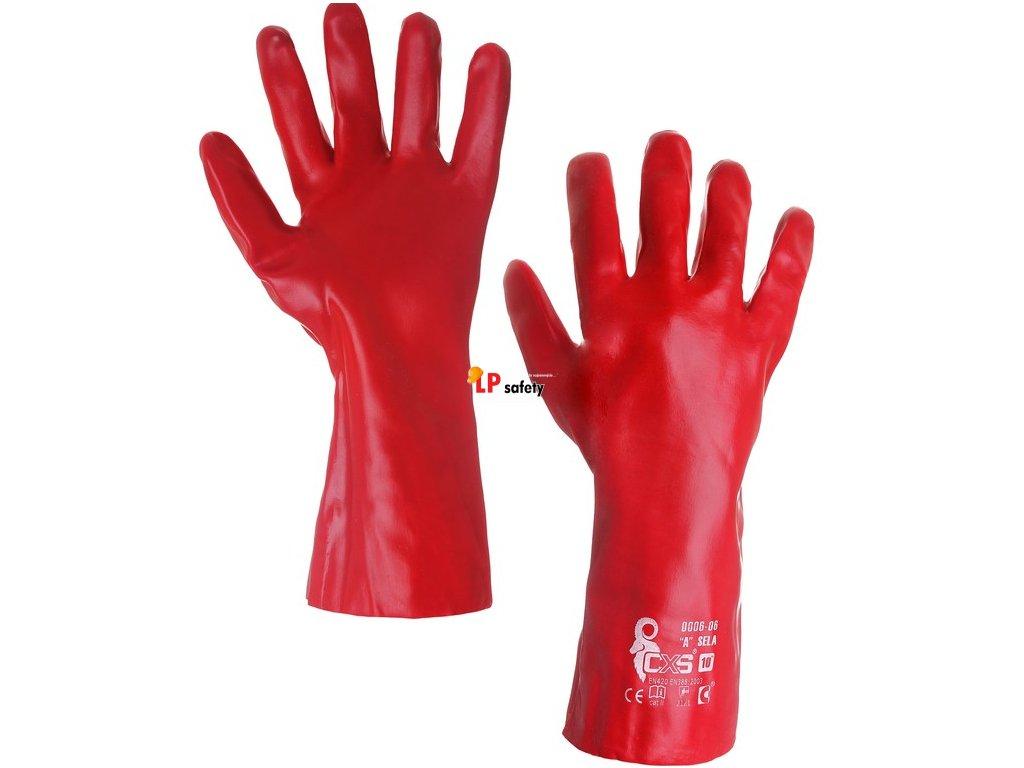 CXS SELA celomáčané rukavice