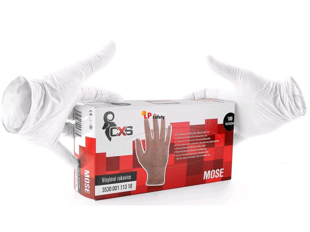 CXS MOSE jednorázové rukavice