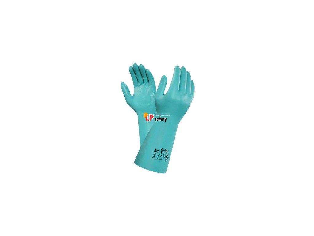 ALPHATEC SOL-VEX 37-695 kyselinovzdorné rukavice