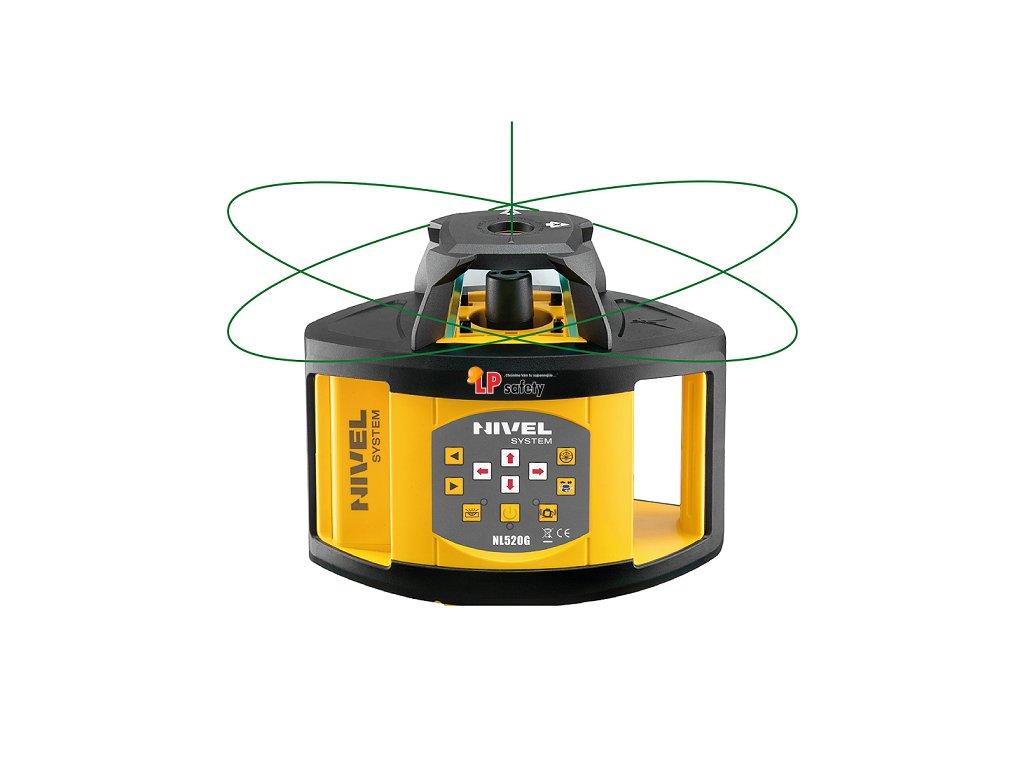 Zelený rotačný laser NL520G